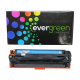 CARTUCHO DE TONER HP CB541A CE321A CF211A CYAN COMPATIVEL EVERGREEN 1.4K