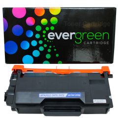 CARTUCHO DE TONER BROTHER TN3472 TN3470 TN880 COMPATIVEL EVERGREEN 12K